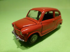 AUTO PILEN 335 SEAT 600 FIAT - RED 1:43 - EXCELLENT CONDITION