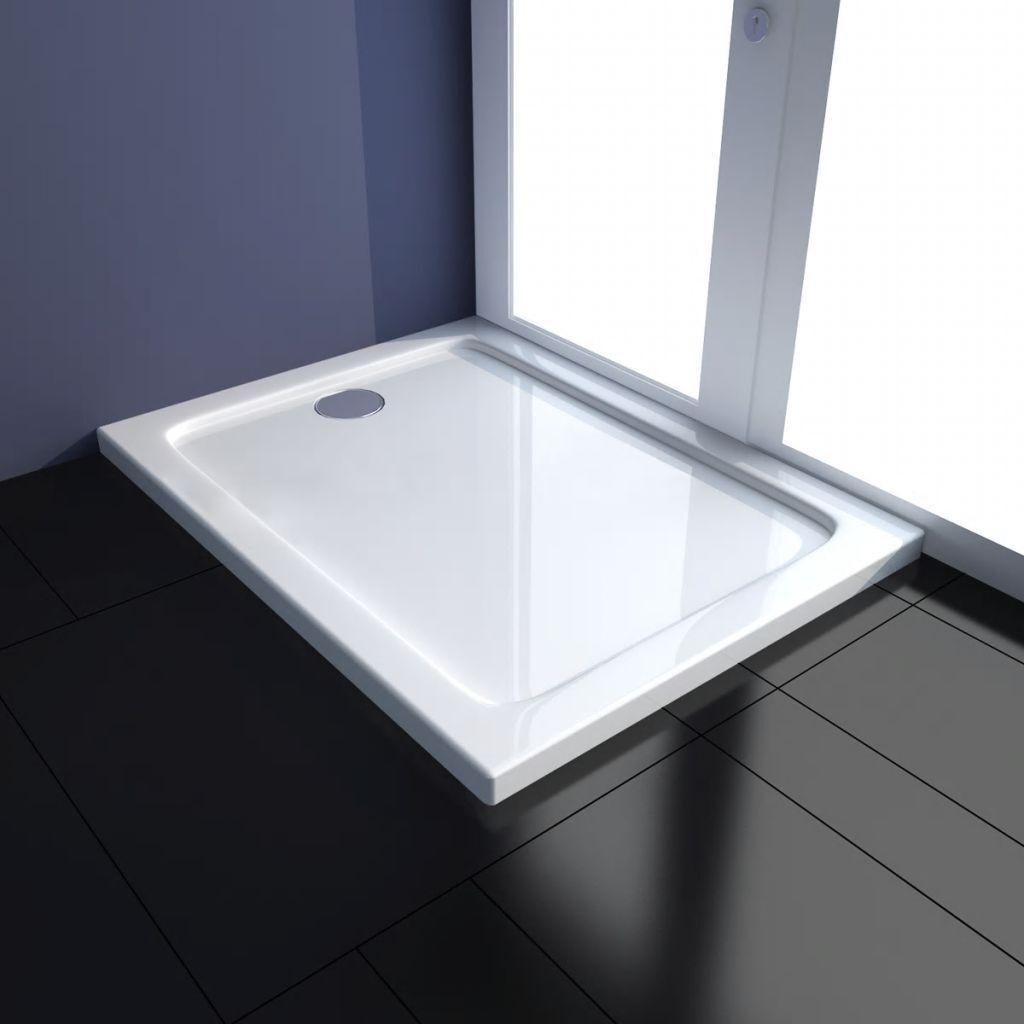 Receveur de douche ABS Blanc 3 dimensions différentes au choix