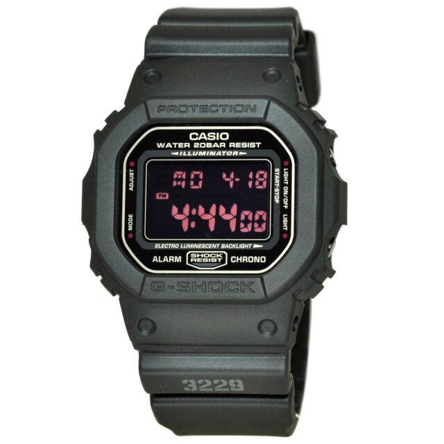 Casio G-shock Dw-5600ms-1d Military Design Black Watch Dw5600ms for ... 8d85e8f616