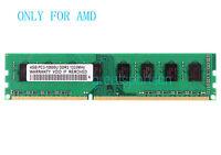 New 4GB DDR3 PC3-10600 1333MHz 240PIN Desktop DIMM AMD Motherboard Memory RAM