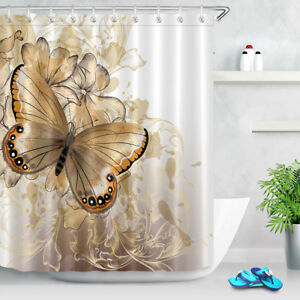 Shower Curtain Set Polyester Fabric