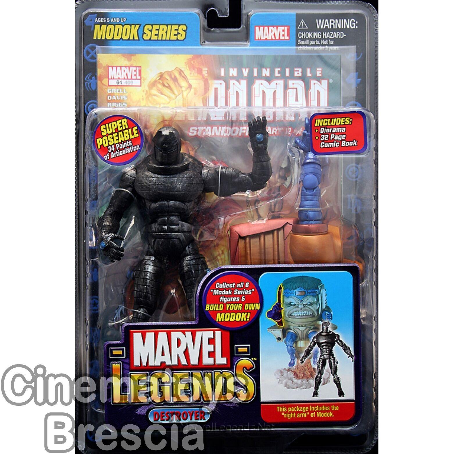 Thor Comics MARVEL Legends MODOK Series DESTROYER Variant Action Figure rara