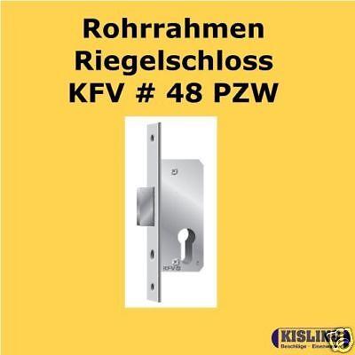 Rohrrahmen Riegelschloss KFV  48 PZ verzinkt 18-24 Dorn