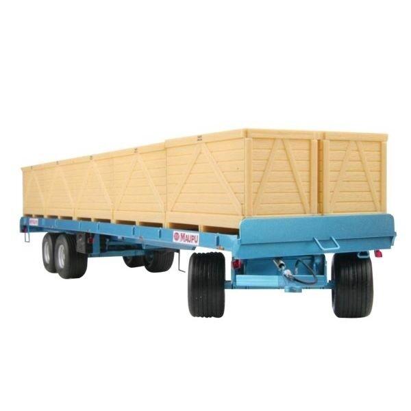 Replicagri REP010 Maupu 1180 200 Anhänger mit 10 Kartoffelkisten 1 32