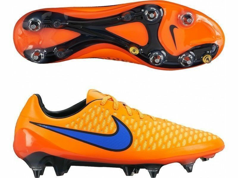 5295547f2ae NIKE MAGISTA OPUS SG-PRO SOCCER CLEATS ACC orange SIZE 6 BRAND NEW (649233