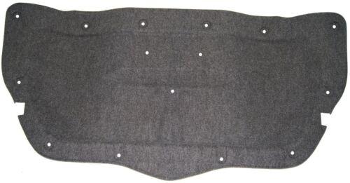 2006-2009 Pontiac Solstice Rear Trunk Lid Carpet Liner Black Diamond Color 25899