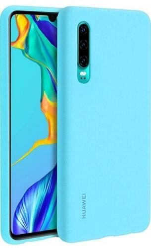 Huawei Silicone Case P30 Azul claro