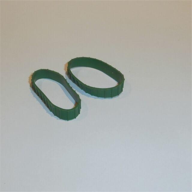Matchbox Lesney  8 & 18 Caterpillar Bulldozer C/D Long Green Tracks Treads