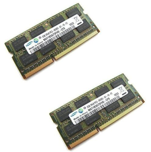 Mac MiniSODIMM PC3-8500S 4GB 2x 2GB  RAM Upgrade for Apple MacBook iMac Pro