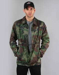 96cf32d265 Nike SB Shield Coaches Skateboarding Jacket Men´s AH5505-222 CAMO ...