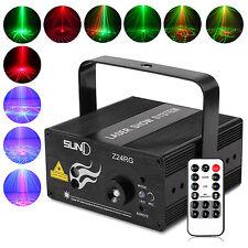LED Láser Escenario Iluminación R&G 24 Gobos Láser Proyector Disco Fiesta Ligero