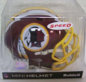 67a60275a2a Image is loading Washington-Redskins-Speed-Mini-Helmet-Replica-NFL