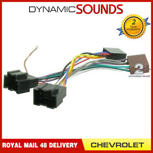 Details about CT20CV01 Car Stereo Radio Wiring Harness Adapter Lead on