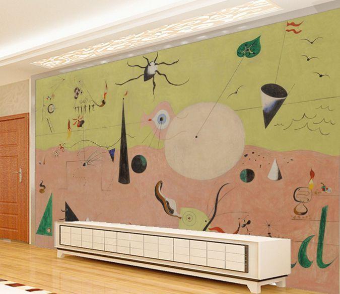 3D Graffiti 343 Photo Papier Peint en Autocollant Murale Plafond Chambre Art