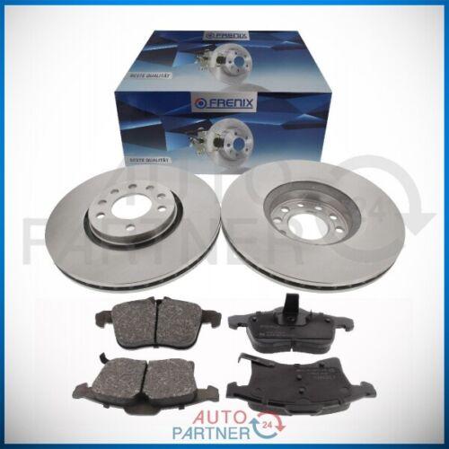 Bremsscheiben Beläge für Opel Astra H Zafira B Meriva B Corsa D Ø308mm vorne VA