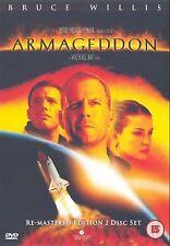 Armageddon 2001 Bruce Willis, Billy Bob Thornton, Ben Affleck NEW UK R2 DVD
