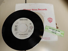 TRICK PONY POUR ME / ON A NIGHT LIKE THIS  JUKEBOX STRIP UNPLAYED 45  WB