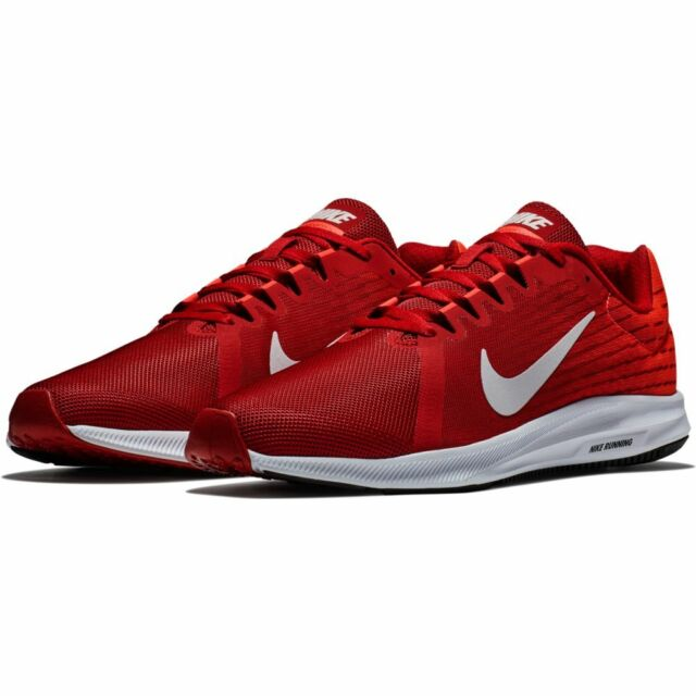 a99379dd055fa Nike Downshifter 8 Mens 908984-601 Gym Red Crimson Mesh Running Shoes Size  11