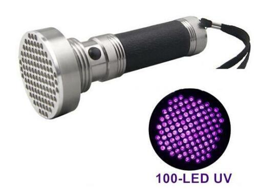 GHOST UV TORCH 100 LED LIGHT PARANORMAL KIT EQUIPMENT HUNTING HUNT SPIRITS LARGE