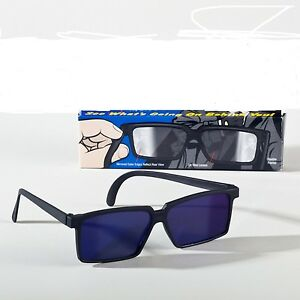 Vista-posteriore-Occhiali-da-Spia-per-bambini-specchiato-Agente-Segreto-Spia-giocattolo-per-bambini