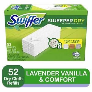 Swiffer-Sweeper-Wet-Mop-Pads-Multi-Surface-Refills-Dirt-Deep-In-Cloth-Pad-52PCS