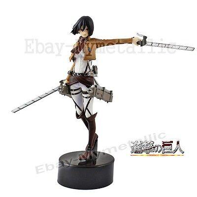 "Japanese Anime Attack On Titan Mikasa Ackerman 4.5"" / 11 cm PVC Figure NO BOX"