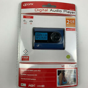 GPX 2GB Digital Audio MP3 Music Player MW249BU NEW Factory ...