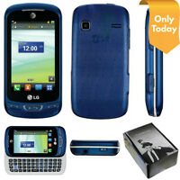 Lg Expression 2 C410 (at&t Only) Cell Phone With Full Qwerty Keyboard - Blue
