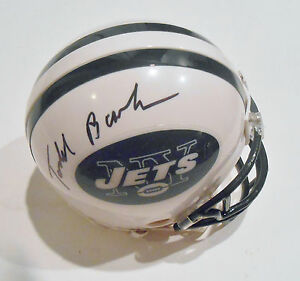 Autographs-original Helmets Todd Bowles Signed New York Jets Football Mini Helmet W/coa Extremely Efficient In Preserving Heat