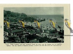 Valparaiso-Harbour-Chile-Book-Illustration-c1920