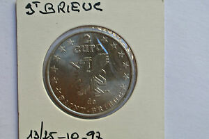 Consciencieux 2 Euros De St Brieuc 13/25 - 10 - 1997 Dans Beaucoup De Styles