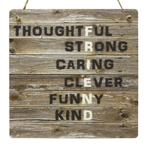 laser engraved wooden sign plaque friends thank you birthday special friend gift present Good Friends