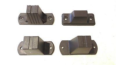 DGOL 30 Sets Metal Flat Head Stud Purse Feet Spike Screw Back Purse Luggage F...