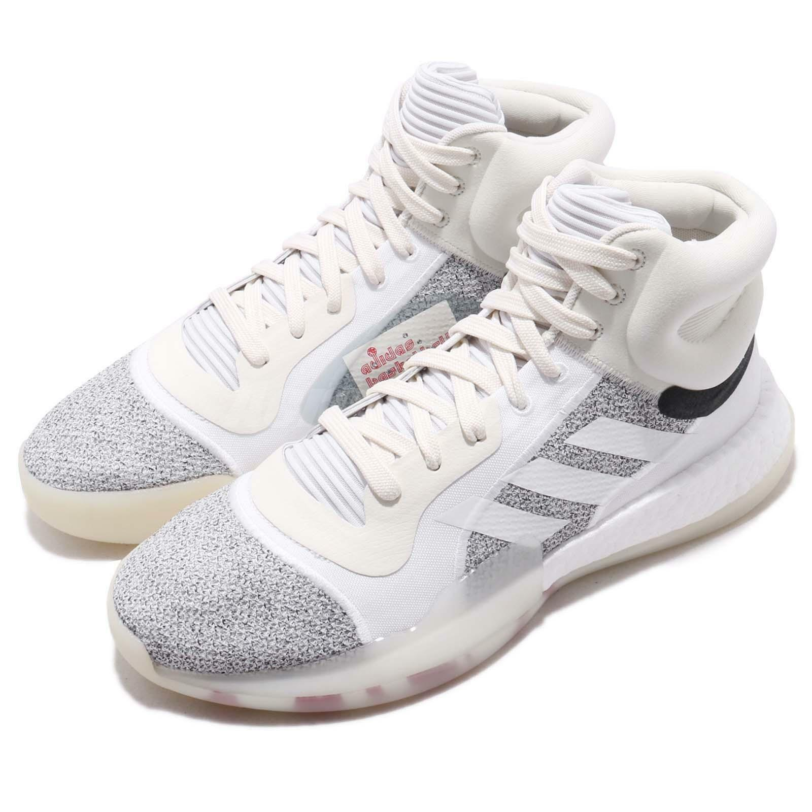 Adidas Marquee Boost Off White Solid Grey Men Basketball shoes Sneakers G28978