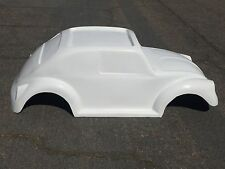 VW Beetle Bug hot rod stroller pedal car go kart fiberglass body