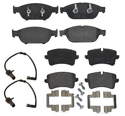 Pads Set And Sensor Kit New Audi A6 A7 A8 Quattro Front Discs Brake Rotors