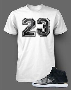 db58dfd9cd745d Tee Shirt to match AIR JORDAN 31 FINE PRINT Mens White Short Sleeve ...