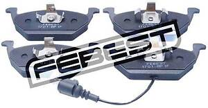 1701-8P1F-Genuine-Febest-Pad-Kit-Disc-Brake-Front-1K0698151A-1K0698151F
