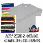 New Alstyle Apparel 1301 AAA Short-Sleeve Plain Blank Basic T-Shirts