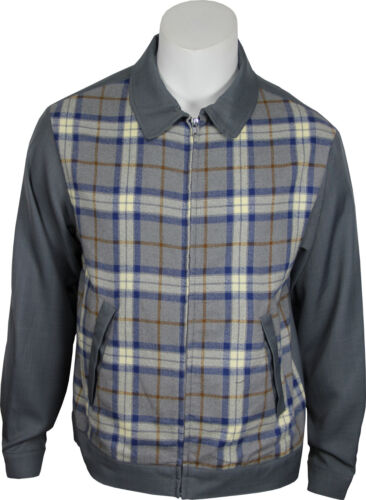 Men's Vintage Style Coats and Jackets    Daddy-Os Vintage Inspired Mens 50s Styled Gray Plaid Jacket. NEW & All Sizes $49.95 AT vintagedancer.com