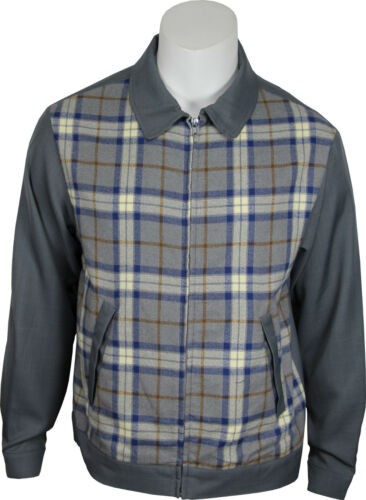 1950s Men's Clothing    Daddy-Os Vintage Inspired Mens 50s Styled Gray Plaid Jacket. NEW & All Sizes $49.95 AT vintagedancer.com
