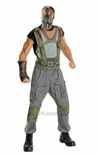 Adult Licensed Batman Dark Knight Deluxe Bane Mens Fancy Dress Costume Outfit