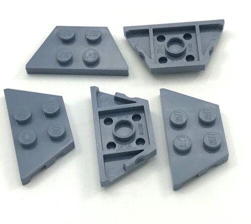 Baukästen & Konstruktion Lego Lot Of 5 Neu Sand Blau Keilabsatz Teller 2 X 4 Punkt Stücke LEGO Bau- & Konstruktionsspielzeug