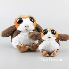 US STAR WARS JEDI porg Bird DEFORMATA Morbido Peluche Giocattolo STUFFED DOLL Bambini Regalo HOT