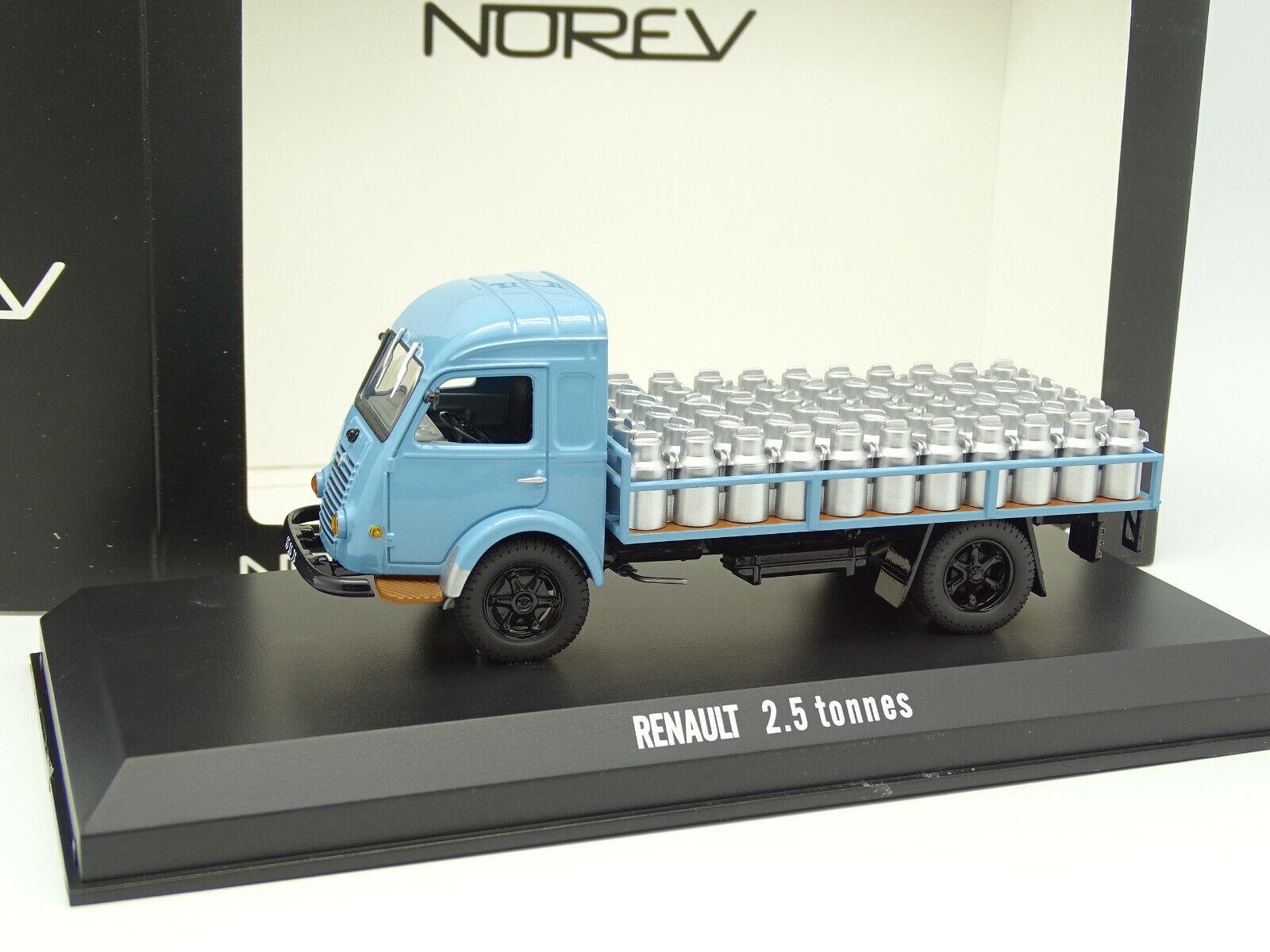 Norev 1 43 -  Renault 2.5T Plateau Laicravater  expédition rapide à vous
