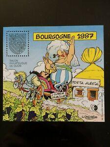 bloc-cnep-neuf-salon-philatelique-Bourgogne-1987-87-Dijon-2