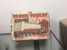 Vintage General Mills Travel Trailer Gravel Truck 1/25 scale model kit