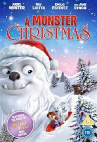 1 of 1 - A Monster Christmas (DVD, 2013)