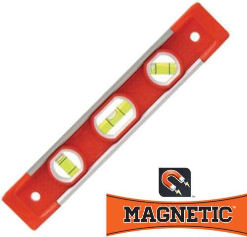 Magnetic Torpedo Level SWANSON TOOL TL001M Heavy Duty Aluminum 9in