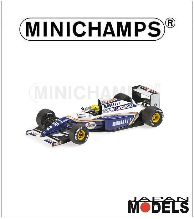 WILLIAMS RENAULT FW16 Ayrton Senna 1994 Minichamps 1 43 Die Cast New Nuovo